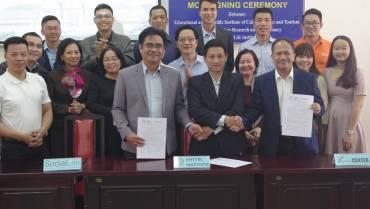 Viện SocialLife ký kết MOU và tham dự hội thảo quốc tế về phát triển sản phẩm và nguồn nhân lực du lịch Việt Nam