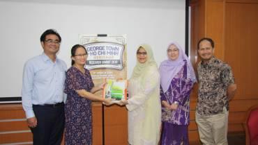 Viện nghiên cứu Đời sống Xã hội (Social Life) thăm University Sains Malaysia (USM)