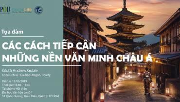 """Thư mời tham dự tọa đàm """"Các cách tiếp cận những nền văn minh châu Á"""""""