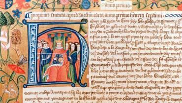Số hóa những bản viết tay thời Trung cổ