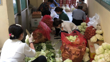 Cứu trợ tiền mặt không khẩn cấp bằng cứu trợ lương thực